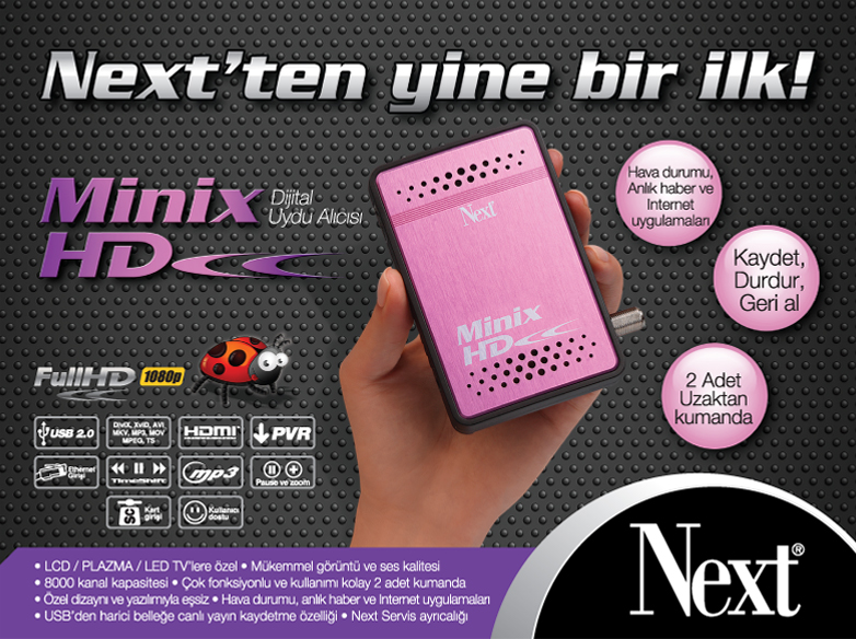 Next Minix HD